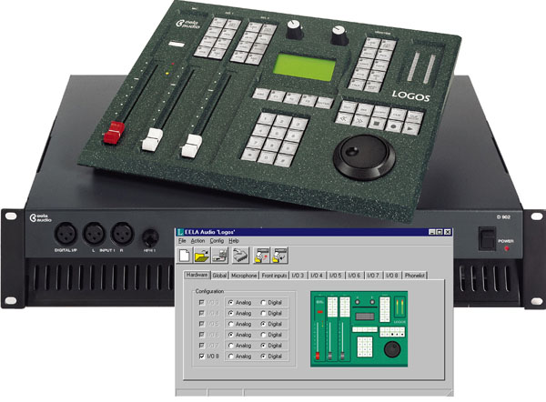 Eela Audio deja de fabricar la LOGOS workstation mixing desk