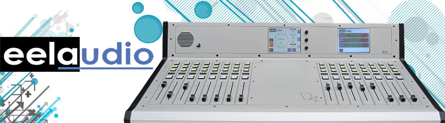 D4 Digital on-air-production broadcast mixing desk