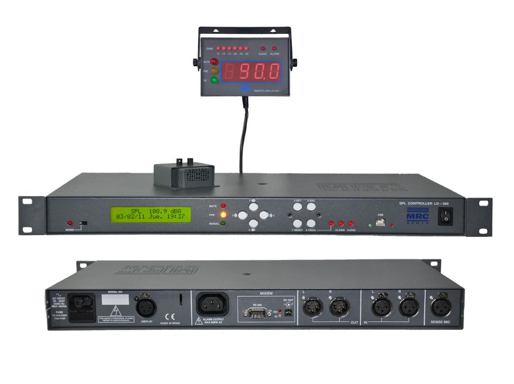 Controlador de presión sonora LD-500